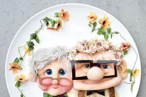 Bà mẹ sáng tạo loạt món ăn cực ngộ nghĩnh cho 2 con