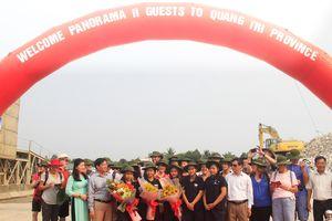 Đoàn khách quốc tế đầu tiên đến Quảng Trị bằng đường biển năm 2019