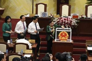 Bầu bổ sung chức danh trưởng, phó các ban chuyên trách HĐND TP Hà Nội