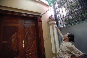 Vụ 40 ngôi nhà lún nứt, dọa sập ở Hà Nội: Kỷ luật Chủ tịch phường