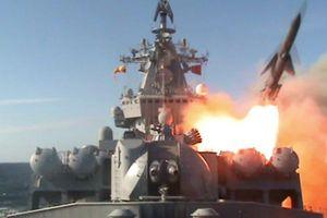 Tàu chiến Nga dội tên lửa vào Syria
