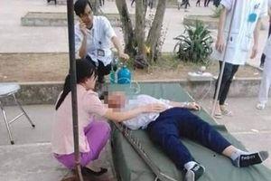 Nam sinh lớp 6 nhập viện do đinh cắm vào đầu trong giờ học thể dục