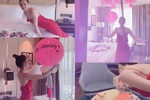 Chiều Ngọc Trinh như bạn trai lớn tuổi: Biến căn phòng mỹ nhân thành 'pink room' để kỷ niệm 2 năm ngày yêu
