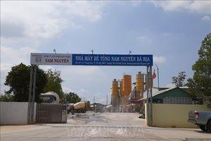 Buộc nhà máy bê tông ở Bà Rịa-Vũng Tàu phải di dời