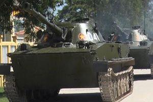 PT-76 Việt Nam xuất hiện pháo lạ, phiên bản mới?