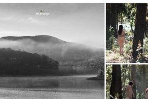 Hình ảnh đôi nam nữ chụp ảnh khỏa thân tại Đà Lạt gây phẫn nộ