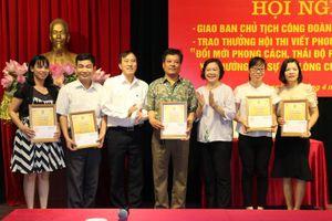 Công đoàn ngành Y tế Hà Nội: Triển khai nhiệm vụ quý II năm 2019