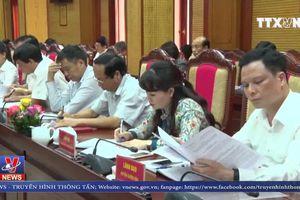 Đoàn công tác Quốc hội làm việc với Tỉnh ủy Tuyên Quang