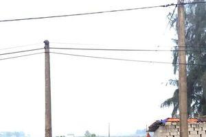 Hà Tĩnh: Người đàn ông bị điện giật tử vong thương tâm trong đêm khuya