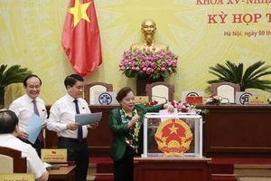 HĐND TP Hà Nội kiện toàn 4 chức danh Trưởng, Phó các ban chuyên trách