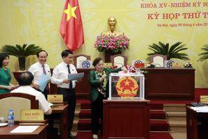 HĐND thành phố Hà Nội có nhiều lãnh đạo mới