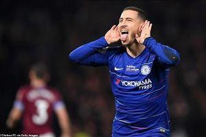 Hazard lập siêu phẩm, Chelsea tiếp đà thăng hoa