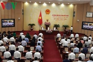 HĐND TP Hà Nội bầu các Trưởng, Phó ban chuyên trách