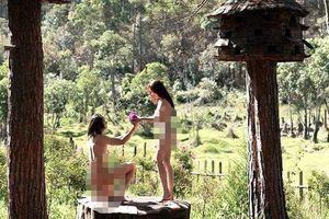 Truy tìm nhóm chụp ảnh khỏa thân gây phản cảm ở rừng thông Đà Lạt