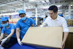 Tập đoàn Asanzo dùng giấy tái chế thay ni lon bọc sản phẩm
