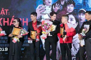Ngô Thanh Vân bất ngờ xuất hiện, chúc mừng Lý Hải ra mắt phim mới