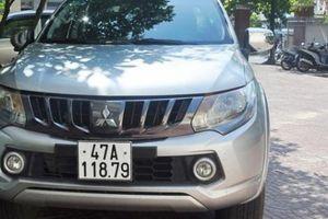 Kon Tum: Bắt được 2 tên trộm xe ô tô biển xanh của tỉnh Quảng Trị