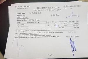 Bệnh viện Bạch Mai lên tiếng việc bán thuốc không bảo đảm chất lượng