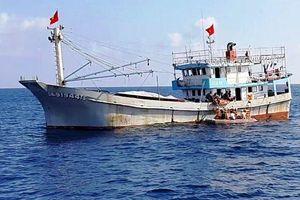 Cứu ngư dân bị tai biến mạch máu não trên biển