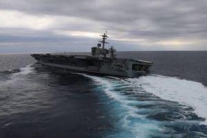 Hạm đội 6 Mỹ trở lại Đại Tây Dương với tàu sân bay 'khủng'