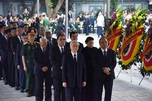 Lãnh đạo Đảng, Nhà nước tiễn đưa Trung tướng Đồng Sỹ Nguyên