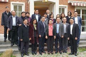 Thứ trưởng Đặng Hoàng An tháp tùng Chủ tịch Quốc hội Nguyễn Thị Kim Ngân thăm, làm việc với Nghị viện châu Âu (EP), Ủy ban châu Âu (EC)
