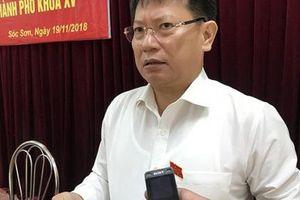 Sẽ báo cáo UBKT Thành ủy những cán bộ liên quan đến sai phạm đất rừng Sóc Sơn