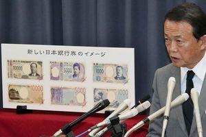 Nhật công bố tiền giấy mới in 3D