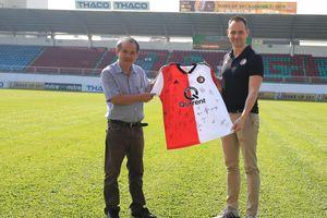 HAGL hợp tác với lò đào tạo lừng danh Hà Lan Feyenoord Rotterdam