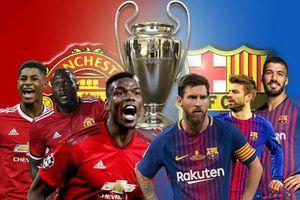 Man Utd – Barcelona: Gian nan tỏ mặt anh hào!