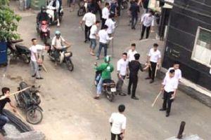 Hỗn chiến giữa 2 nhóm thanh niên sau cuộc cãi nhau trên điện thoại