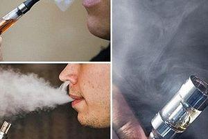 Phát hiện chất ma túy mới trong thuốc lào và thuốc lá điện tử
