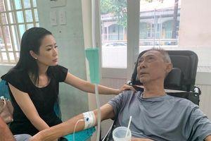 Bệnh ung thư nghệ sĩ Lê Bình chuyển biến xấu, bị hoại tử thân dưới