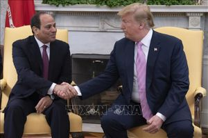 Tổng thống Mỹ và Ai Cập thảo luận về tình hình Trung Đông và các vấn đề về nước