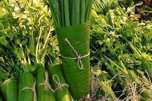 Được Thủ tướng khen vì gói thực phẩm bằng lá chuối, siêu thị Việt nói không với ống hút nhựa