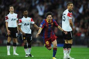 Thành tích của Messi khi đối đầu M.U thế nào?