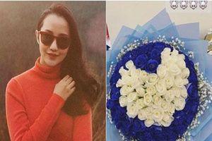 Primmy Trương khoe bó hoa hồng hình trái tim cùng chú thích ẩn ý, phải chăng tình cũ Phan Thành đã có người mới?