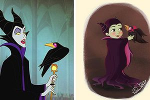 Tái hiện các nhân vật phản diện của Disney qua nét vẽ chibi ngộ nghĩnh