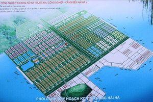 Thu hồi 355ha đất Khu công nghiệp - cảng biển Hải Hà của Tập đoàn Indevco