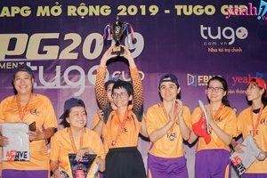 Hào hứng cùng Giải bóng đá nữ APG Tournament 2019 Tugo Cup – Ngôi vương thuộc về các cô gái FFE