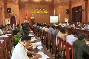 Hội An: Tọa đàm thảo luận về môi trường du lịch