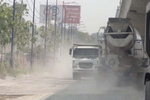 Quận Thủ Đức (Tp. Hồ Chí Minh) – Bài 1: Tràn lan các trạm trộn bê tông xả thải trái phép, gây ô nhiễm môi trường
