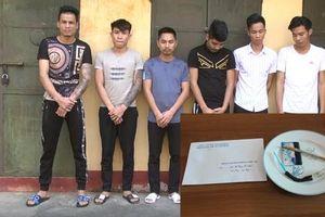 Thanh Hóa: Công an khởi tố, bắt tạm giam 6 đối tượng tổ chức, sử dụng ma túy