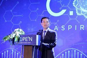 Bộ trưởng Nguyễn Mạnh Hùng: 'Chúng ta không nhỏ khi có những khát vọng lớn'