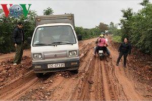 Xe tải nặng cày nát tỉnh lộ 237 ở Lạng Sơn, dân bức xúc