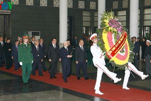 Cử hành trọng thể Lễ viếng Trung tướng Đồng Sỹ Nguyên
