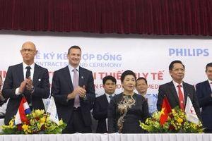 Philips Việt Nam hợp tác cung cấp mọi thiết bị Bệnh viện Đa khoa Hồng Đức II