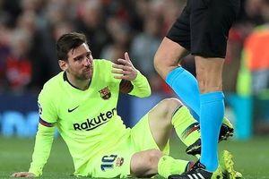 Smalling tiểu xảo thành công: Messi có thể lỡ trận lượt về với M.U