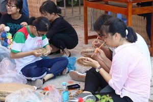 Học sinh Cần Thơ hào hứng trải nghiệm Lễ hội Bánh dân gian Nam bộ