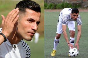Cristiano Ronaldo sang Iraq làm… công nhân xây dựng!